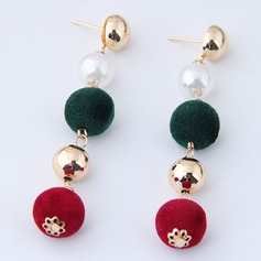 Fashional Alloy Women's Fashion Earrings (Set of 2)