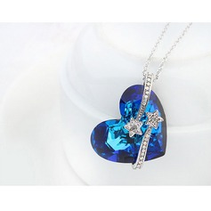 Alloy Crystal Ladies' Fashion Necklace