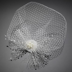 Classic Imitation Pearls Fascinators