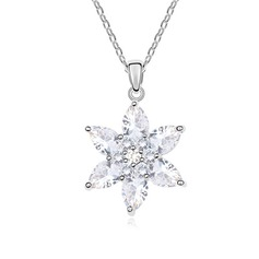 Gorgeous Zircon/Platinum Plated Ladies' Necklaces