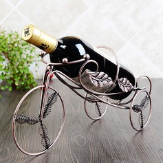 Bicycle Design Alloy Bottle Holder / Wine Rack