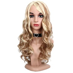 Loose Wavy Synthetic Hair Capless Wigs 230g