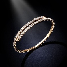 Shining Alloy With Rhinestone Women's Fashion Bracelets