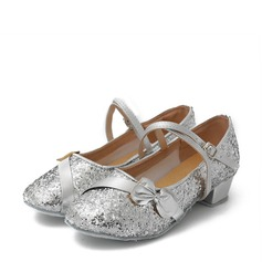 Kids' Sparkling Glitter Modern Dance Shoes