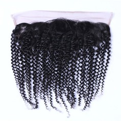 5A Virgin/remy Kinky Curly Human Hair Closure (Sold in a single piece) 70g