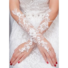 Tulle Bridal Gloves (014132828)