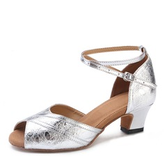Leatherette Heels Latin Dance Shoes