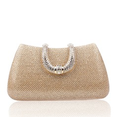 Elegant Satin Clutches/Satchel/Top Handle