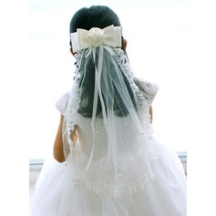 Beautiful Organza Flower Girl Wedding Veill