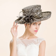 Damene ' Iøynefallende Cambric Stiv / Cloche Hatt/Kentucky Derby Hatter/Tea Party Hats