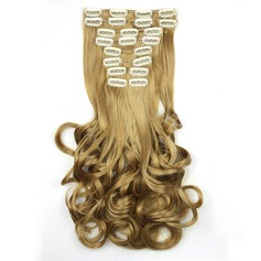Loose Synthetic Hair Clip in Hair Extensions 10PCS 150g (235143097)