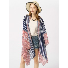 Striped attractive/fashion Beach Poncho