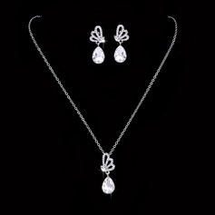 Nice Alloy With Rhinestone Ladies' Jewelry Sets