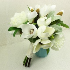 Pretty Satin Bridal Bouquets -