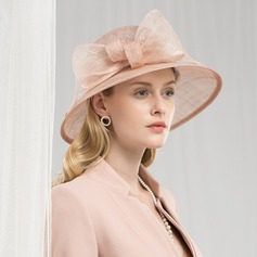 Dames Mode/Romantique/Style Vintage Batiste Chapeaux de type fascinator/Kentucky Derby Des Chapeaux/Chapeaux Tea Party