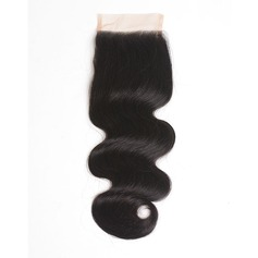 6A Indian Virgin/remy Body Wavy Closure (Sold in a single piece)