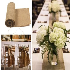 Tablecloth Linen (Sold in a single piece) Simple Clear Table Centerpieces (128174281)