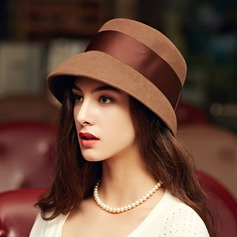 Ladies' Gorgeous/Elegant Wool Bowler/Cloche Hat (196134748)