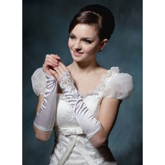 Elastic Satin Elbow Length Party/Fashion Gloves/Bridal Gloves