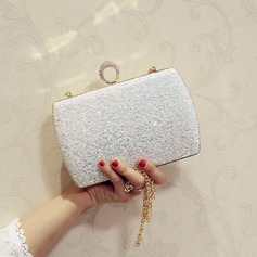 Sequin/Sparkling Glitter/Abrasive Cloth Clutches/Satchel