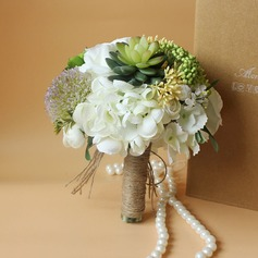 Romantic Satin Bridal Bouquets -