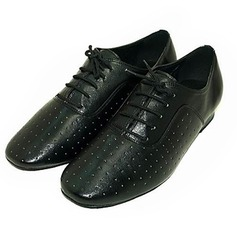 Men's Real Leather Practice Dance Shoes