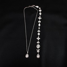 Unique Rhinestones With Rhinestone Women's Fashion Necklace