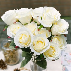 Charming Satin Decorations/Wedding Table Flowers