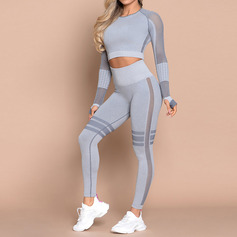 Modern / Contemporary Outdoor nylon Sport Tee & Leggings