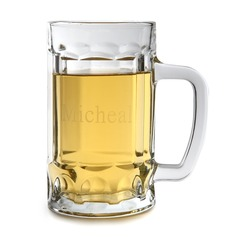 Personalized Fashionable Glass Beer Mug