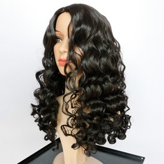 Deep Wave Long Layered Syntetiske parykker African American Parykker