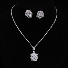Nice Alloy/Rhinestones/Zircon Women's/Ladies' Jewelry Sets