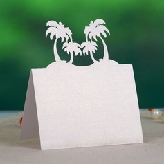 Beach Theme Pearl Paper Place Cards