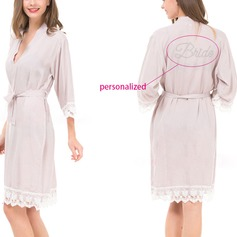 Personalized Cotton Bridal/Feminine Robe (20 letters or less)(041116930)