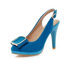 Suede Stiletto Heel Pumps Closed Toe With Sequin shoes