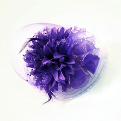 Beautiful Feather/Net Yarn/Silk Flower Fascinators/Kentucky Derby Hats