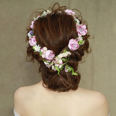 Ladies Romantic Silk Flower Headbands