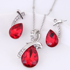 Fashional Alloy Rhinestones Glass Ladies' Jewelry Sets
