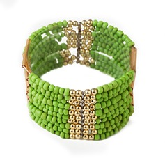 Exotic Alloy Beads Women's Fashion Bracelets