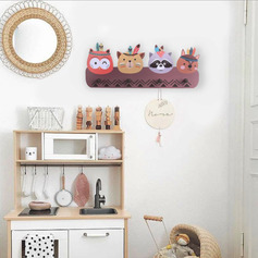 Cartoon Wooden Storage&Organization (Sold in a single piece)