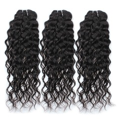3A Non remy Wavy Mid-Length Long Human Hair Hair Weaves/Weft Hair Extensions (Sold in a single piece) 100g