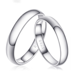 Sterling Silver Couple's Rings (289229798)
