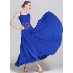 Women's Dancewear Lace Rayon Latin Dance Modern Dance Performance Ballroom Dresses