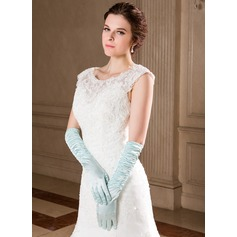 Elastic Satin Elbow Length Party/Fashion Gloves (014040730)