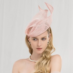 Senhoras Charmosa/Elegante Cambraia Fascinators/Kentucky Derby Bonés