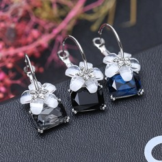 Fashional Alloy Acrylic Ladies' Fashion Earrings