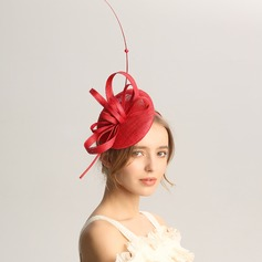 Ladies' Fashion/Special/Glamourous/Elegant/Unique/Fancy/Romantic/Vintage/Artistic Cambric/Net Yarn Fascinators