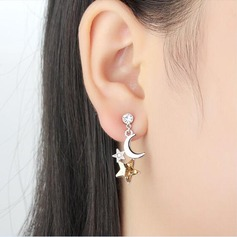 Fashional Alloy/Crystal With Crystal Earrings