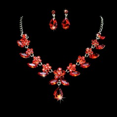 Unique Alloy/Rhinestones Women's Jewelry Sets