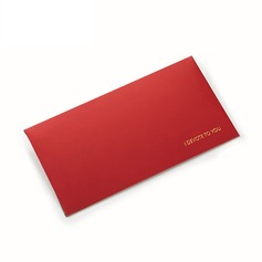 Red envelope for wedding response gift